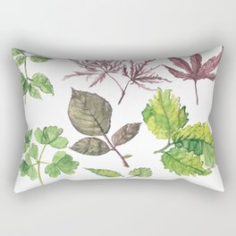 the daily creative project: leaves Rectangular Pillow