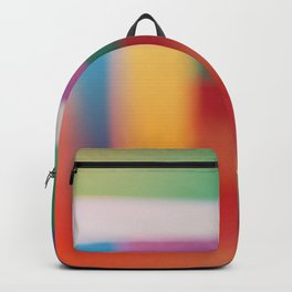 Colored blur background 3 Backpack