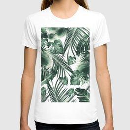 Tropical Jungle Leaves Dream #7 #tropical #decor #art #society6 T-shirt