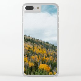 GOLD DUST Clear iPhone Case