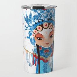Beijing Opera Character GongNv Travel Mug