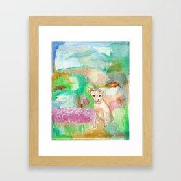 Doggy Framed Art Print