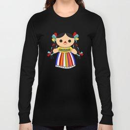 Maria 2 (Mexican Doll) Long Sleeve T-shirt