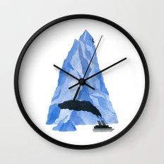 The Living Iceberg Wall Clock