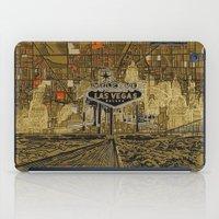 las vegas iPad Cases featuring las vegas by Bekim ART