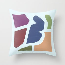 R13 Collage 1 Throw Pillow