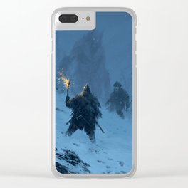 I think we found Björn! Clear iPhone Case