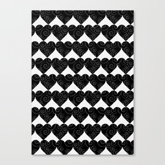 all heart Canvas Print