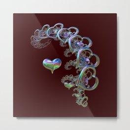 Rhythm of the Heart Metal Print