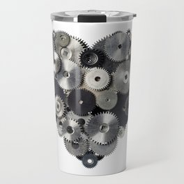 Mechanical heart Travel Mug