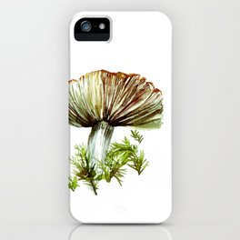 OIN014 Mushroom and Moss iPhone Case