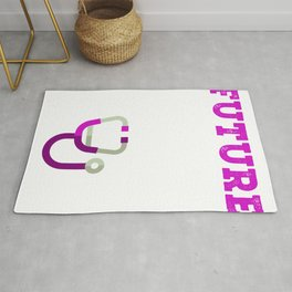 Future PA Physician Assistant Graduation Gift  Rug