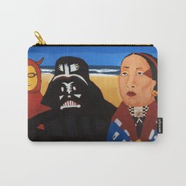 The Devil, Darth vader and Indian Chief Carry-All Pouch