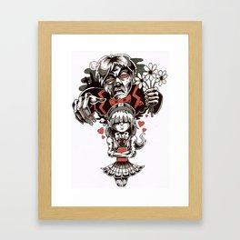 Dream Date Framed Art Print