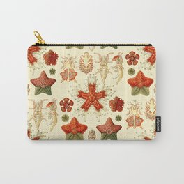 Ernst Haeckel - Scientific Illustration - Asteroidea Carry-All Pouch