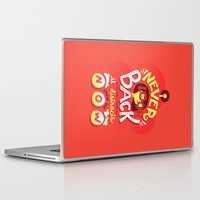 depeche mode Laptop & iPad Skins featuring Edna Mode by Risa Rodil