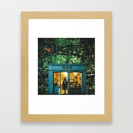 BAR - square version Framed Art Print