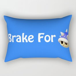 I Brake For Blue Shells (Mario Kart)  Rectangular Pillow
