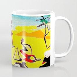 Lipton in East Africa          by Kay Lipton Coffee Mug