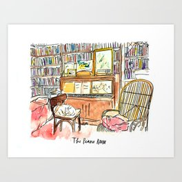 The Piano Room Art Print