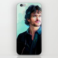 will graham iPhone & iPod Skins featuring Will Graham by The Wayward Daughter