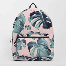 Tropical Monstera Pattern #1 #tropical #decor #art #society6 Backpack