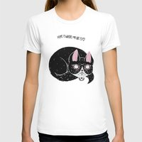 loll3 T-shirts featuring Home is where my Cat is by lOll3