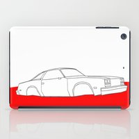 1984 iPad Cases featuring Demolition Derby 1984 by Roger Torino