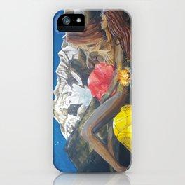 Childbirth camp iPhone Case