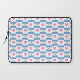 Flag of argentina 3 -Argentine,Argentinian,Argentino,Buenos Aires,cordoba,Tago, Borges. Laptop Sleeve