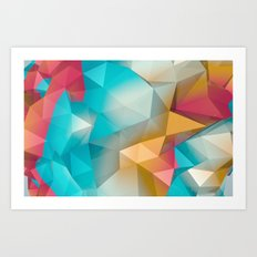 Land Sphere Art Print