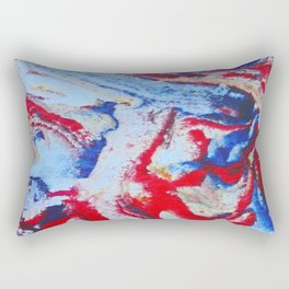 Tectonic Plates Rectangular Pillow