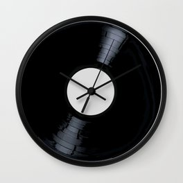 Blank White Label Wall Clock