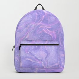 Pastel neon marbled design Backpack