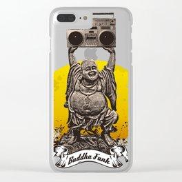 Buddha Funk Clear iPhone Case