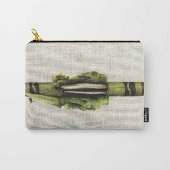 To The Core: Green Carry-All Pouch