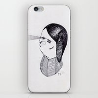 godfather iPhone & iPod Skins featuring Apache Godfather by Topiz