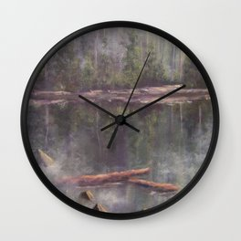 Quiet Reflections AC120811a Wall Clock
