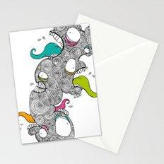 Monster Men Stationery Cards