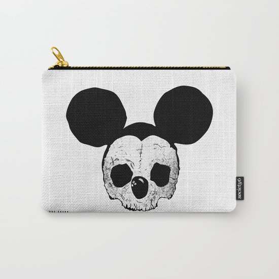 Dead Mickey Mouse Carry-All Pouch