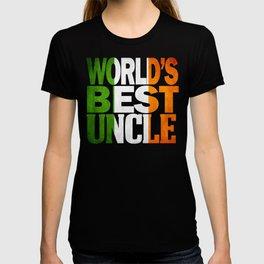 Irish Undcle Gift Irish Design Irish Flag Shirt T-shirt