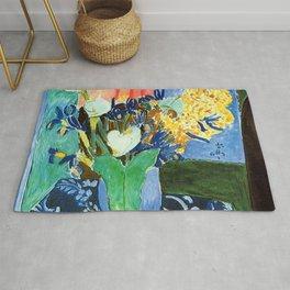 Henri Matisse Lilies, Irises and Mimosas Rug