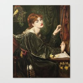 Dante Gabriel Rossetti - Veronica Veronese Canvas Print