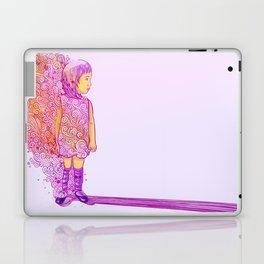 Flame doodle Laptop & iPad Skin