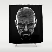 cook Shower Curtains featuring The Cook by Azafran