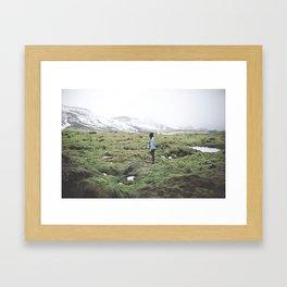 Lava Fields Forever Framed Art Print