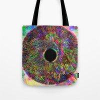 iris Tote Bags featuring Iris by J.Lauren