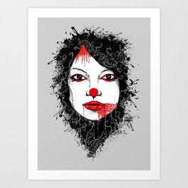 The Harlequin Art Print