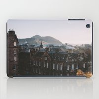 scotland iPad Cases featuring Edinburgh, Scotland by norakathleen
