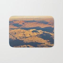Andes Mountains Desert Aerial Landscape Scene Bath Mat